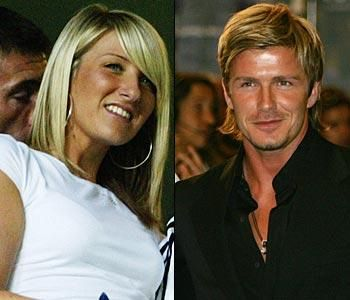 David Beckham ve kardeşi
